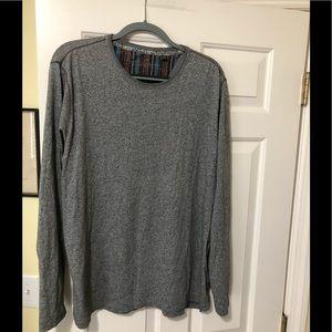 Robert Graham designer crewneck gray pullover XL